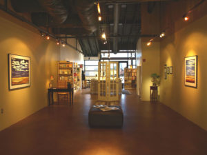 Lubbesmeyer Studio & Gallery in the Old Mill District of Bend, Oregon
