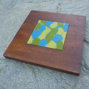 """Lisa Marie Sipe, """"The Shape of Things,"""" encaustic on wood"""