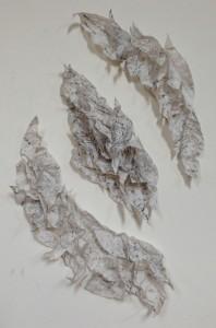 graphite rubbing collage final