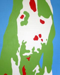 Lisa Marie Sipe, organic pop art acrylic painting
