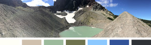 Glacial Color Inspiration from Lisa Marie Sipe