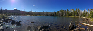 Jack Lake in Central Oregon