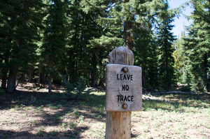 Leave No Trace, 3 Sisters Wilderness