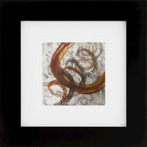 """""""Ecliptic"""" encaustic monoprint by Lisa Marie Sipe"""