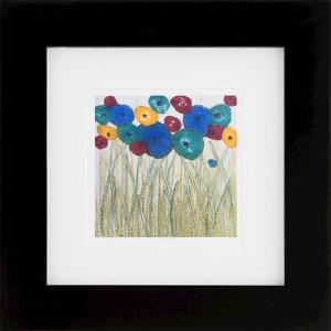 Signs of Spring, encaustic monoprint, Lisa Marie Sipe