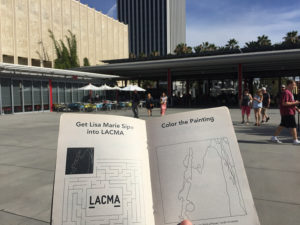 Get Lisa Marie Sipe into LACMA with The Sketchbook Project
